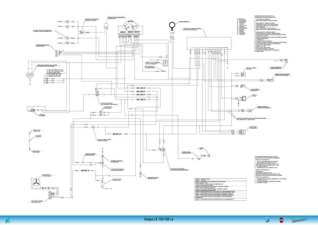 Wiring Diagram Vespa Lx